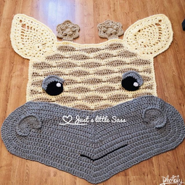 Crochet Pattern Jimmy The Hybrid Car Rug Pdf Crochet Pattern Etsy Crochet Rug Patterns Giraffe Nursery Crochet Elephant