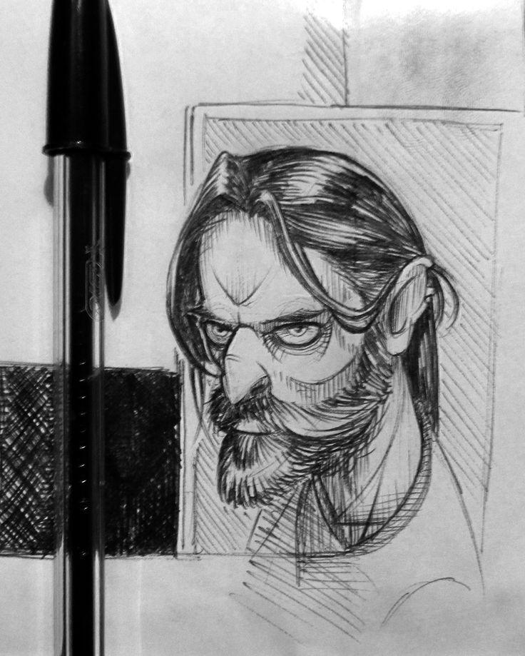 Random Sketches - illustration - Paolo Voto / Honesto Artwork