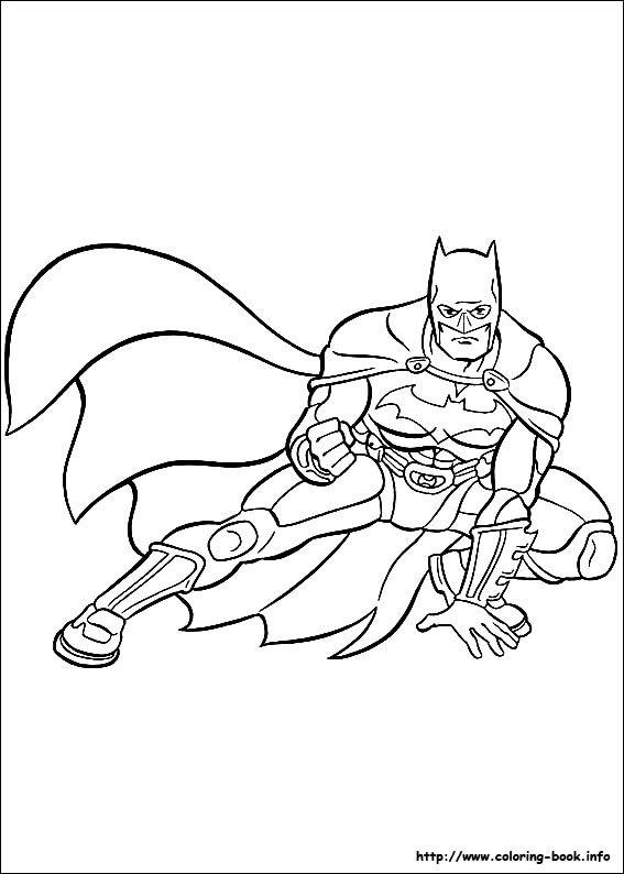 batman begins coloring pages - photo#17