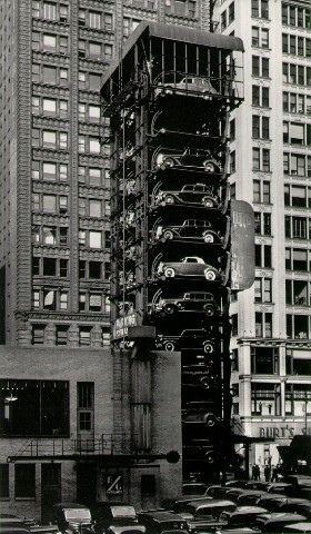 NYC. Vintage Parking