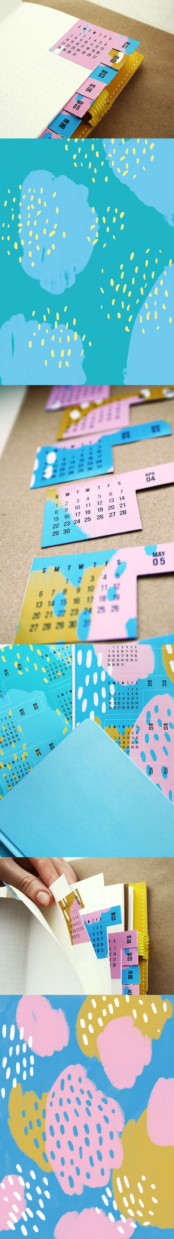 How to keep a current month infront of your eyes  #DIY #plannerstickers #calendar #calendarsticker #anniesprintcrafts #etsy #printables #downloadandprint #download