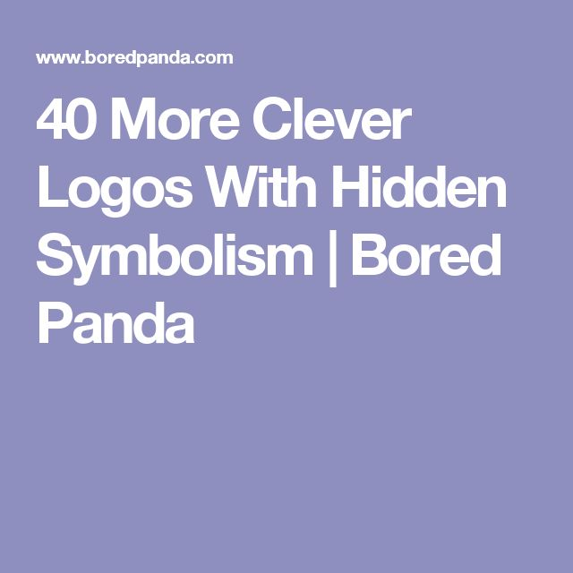 40 More Clever Logos With Hidden Symbolism | Bored Panda