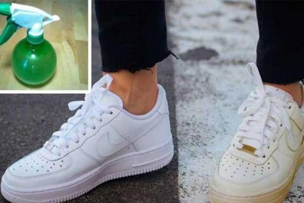 Íme a trükk, amivel a besárgult cipő fehérebb lesz, mint újkorában!