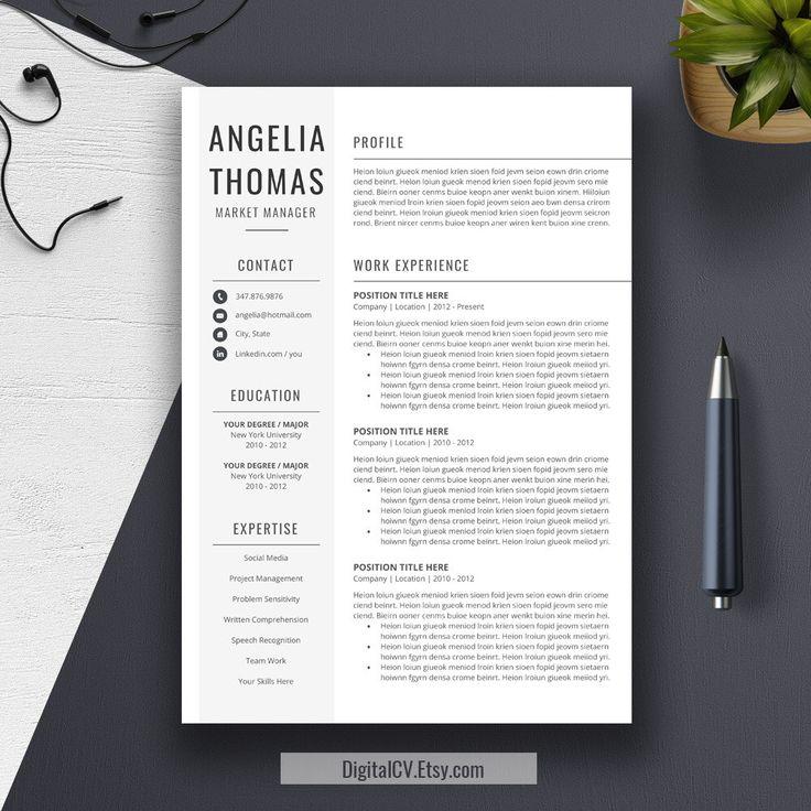 Simple Resume Pinterestu0027te hakkında 1000u0027den fazla fikir - resume te