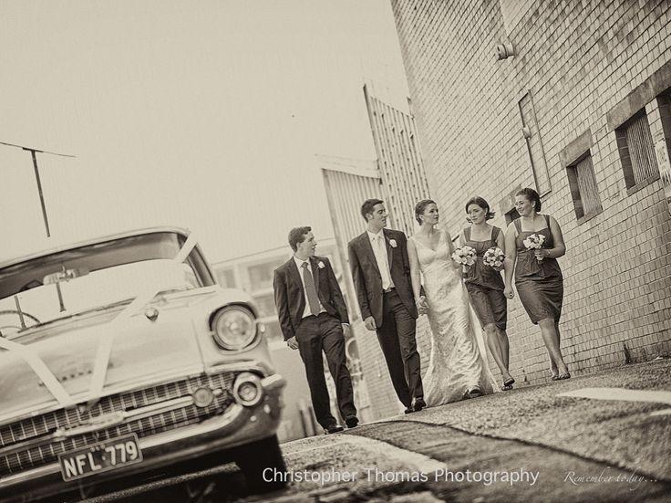 Wedding Car, Brisbane Wedding Photographer, Christopher Thomas Photography