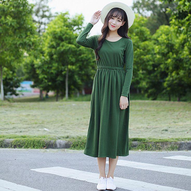 Aliexpress платье с длинным рукавом