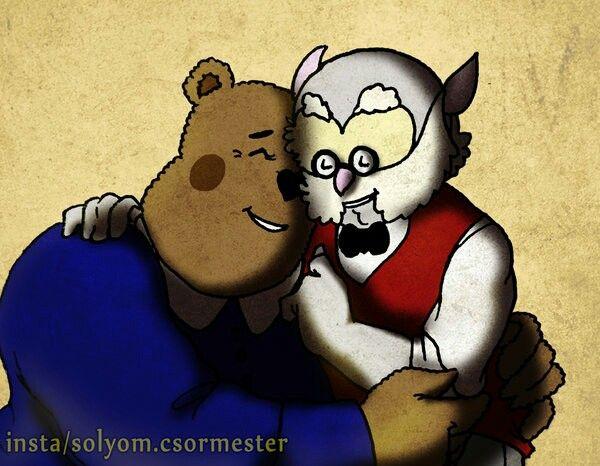 Ursos bubos / kérem a következőt! / Dr Bubo x Ursula