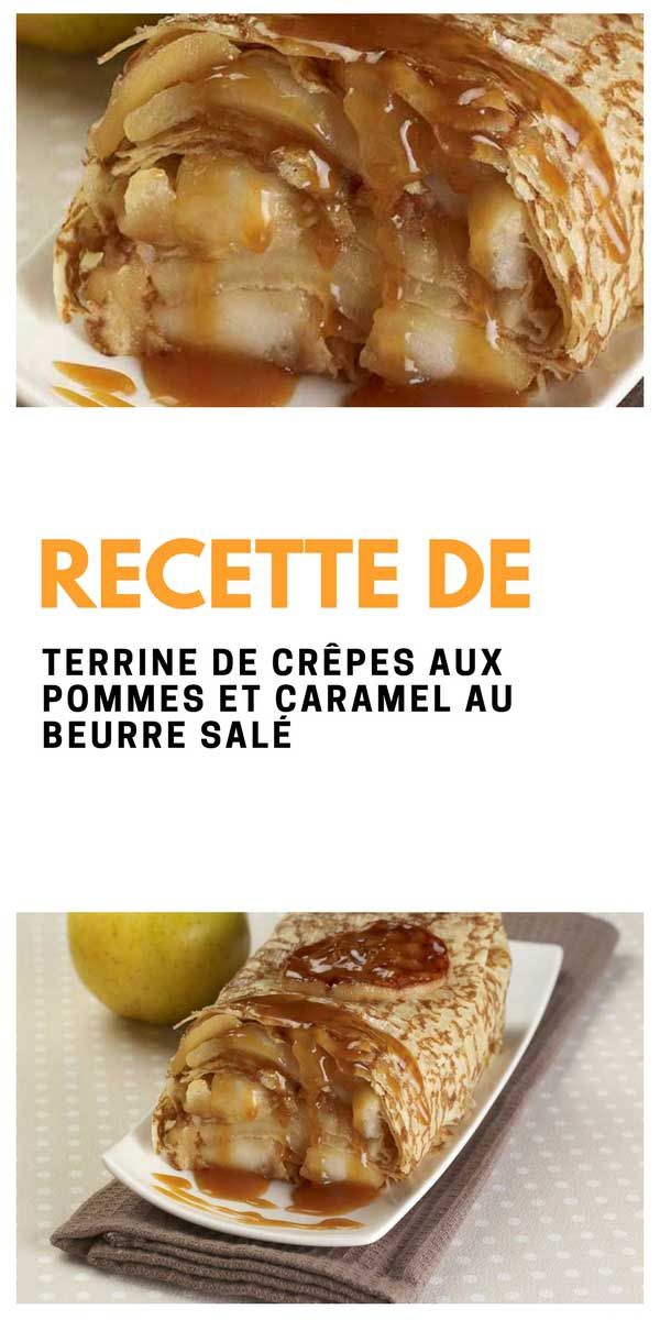 #terrine #crêpe #pomme #caramel