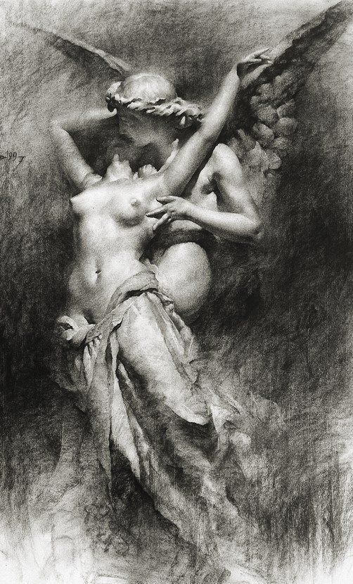 """Eros seizes and shakes my very soul like the wind on the mountain shaking ancient oaks."" ~Sappho... xo"