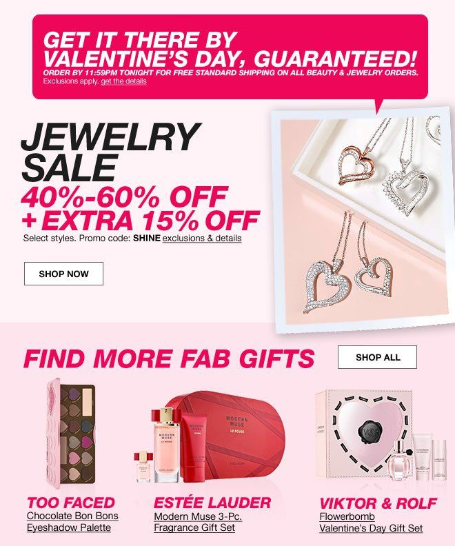 2016 Valentineu0027s Day Sales U0026 Delivery Deadlines: Macyu0027s, Target U0026 Walmart |  News For