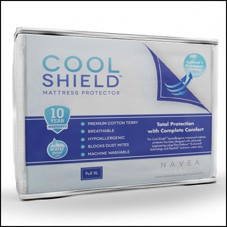 Cool Shield No Allergy Waterproof Mattress Protector