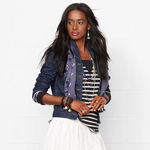 Ralph Lauren Denim & Supply Denim Shawl-Collar Jacket