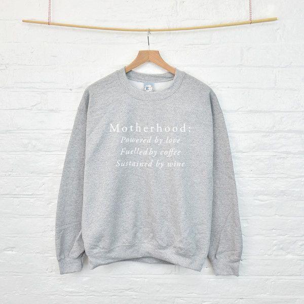 Mother's Day motherhood sweatshirt