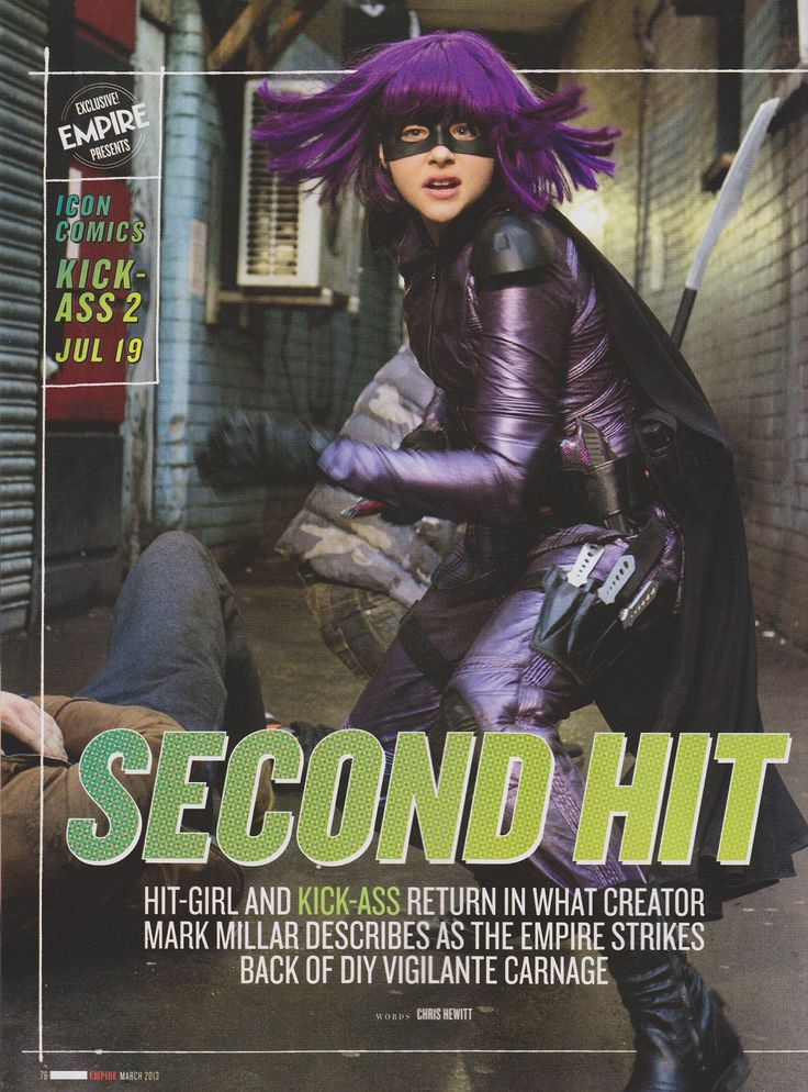 Kick Ass 2  Hit-girl