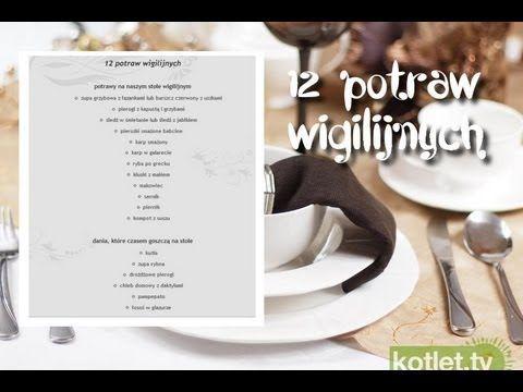 12 wigilijnych potraw - sprawdźcie czy jesteście przygotowane na świętowanie! :-)