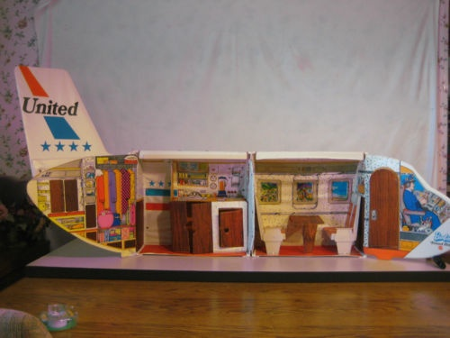 Barbie Airplane - Totally had this.....and back then who would have thought it would now be my employer!!!!!! Too funny!!!!!! Where is the drink cart