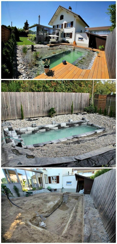 12 Low Budget Diy Swimming Pool Tutorials Diy Crafts Outdoordiyonabugdet Diy Schwimmbad Hinterhof Pool Landschaftsbau Diy Pool Ideen