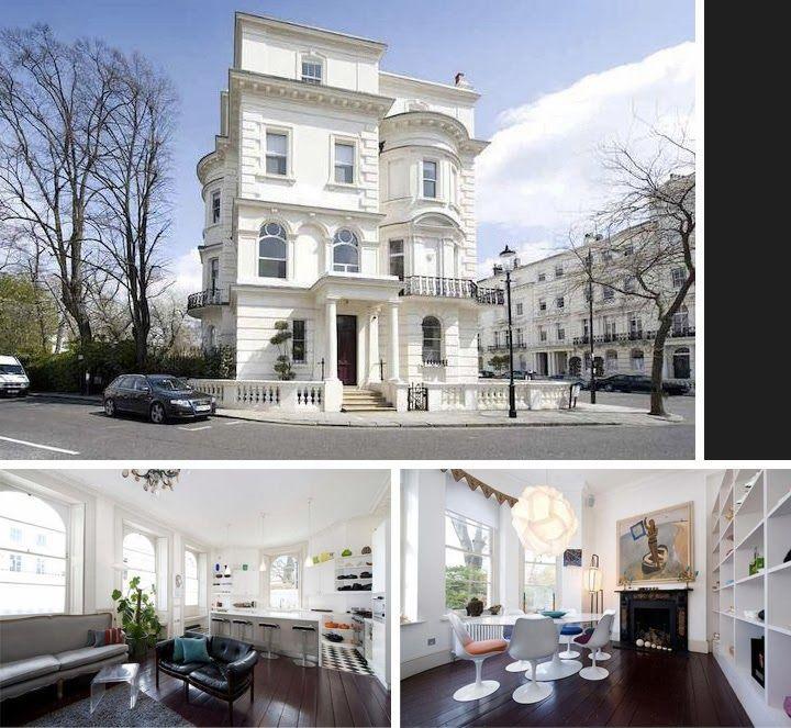 Celebrity homes addresses london
