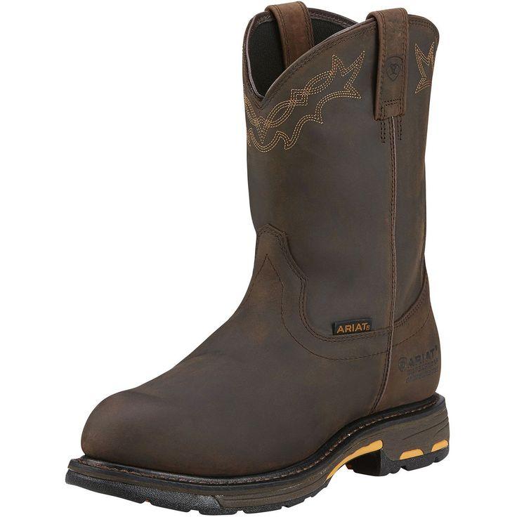 Ariat Men's Workhog Waterproof Composite Toe Boots 10001200