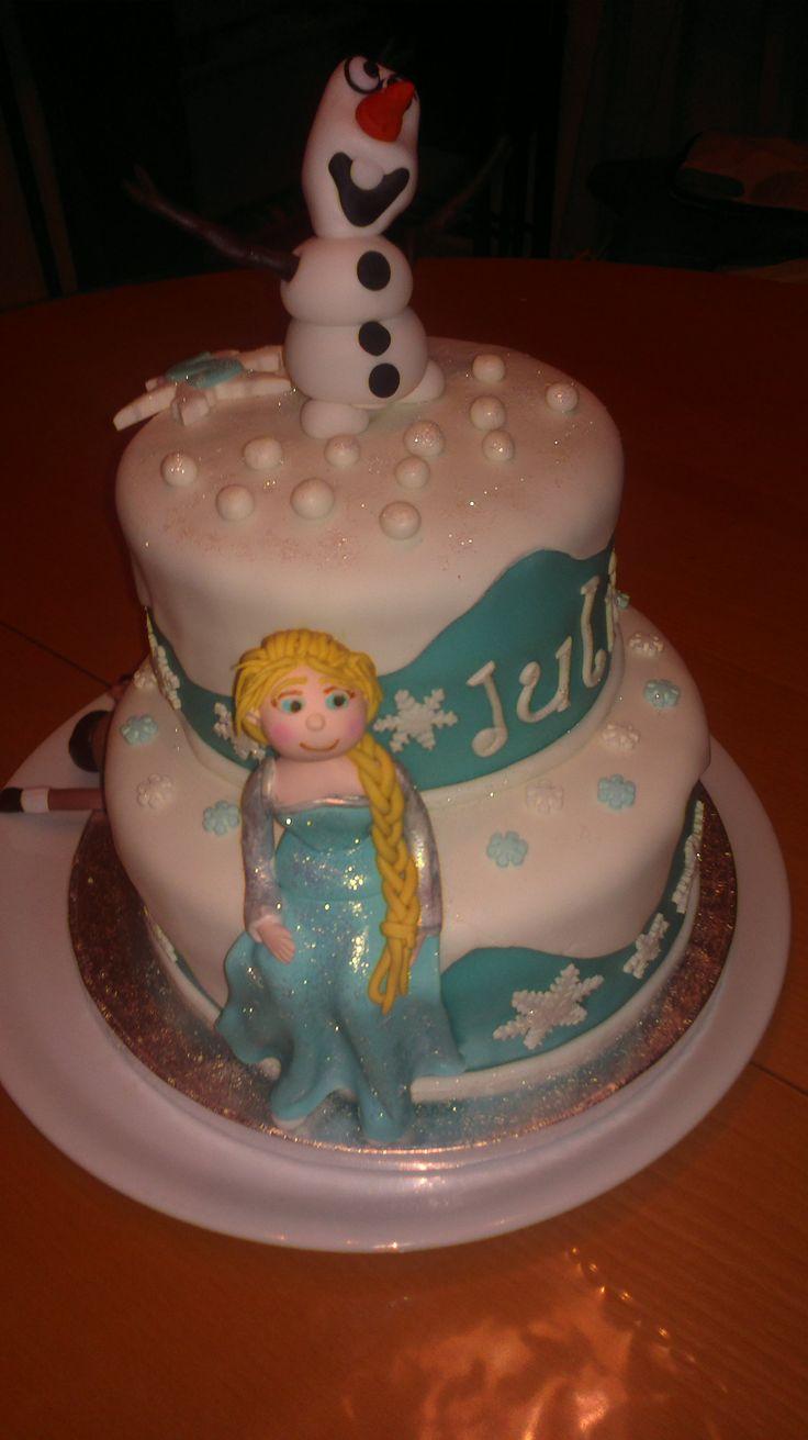 Frozen para la princesita Julia