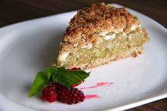 Fitness rebarborový koláč /Fitness rhubarb pie/