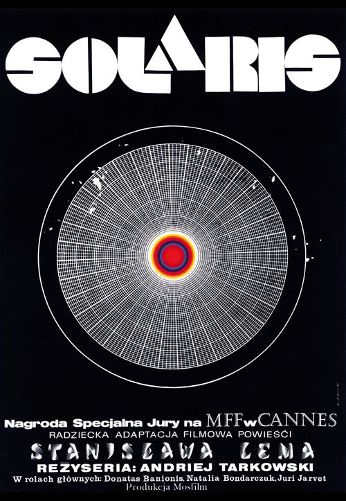 Solaris, Polish Poster, Signed, Limited Edition hand signed by Andrzej Bertrand Solvent print. Solaris / Solyaris (Russia) director: Andrei Tarkovsky designer: Andrzej Bertrandt year:  1972 (original)/2014 (reprint) size: A1