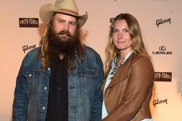 Chris Stapleton jins his wife, Morgane, to sing harmony vocals on You Are My Sunshine.