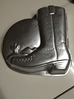 Cowboy Boot Wilton Cake Pan