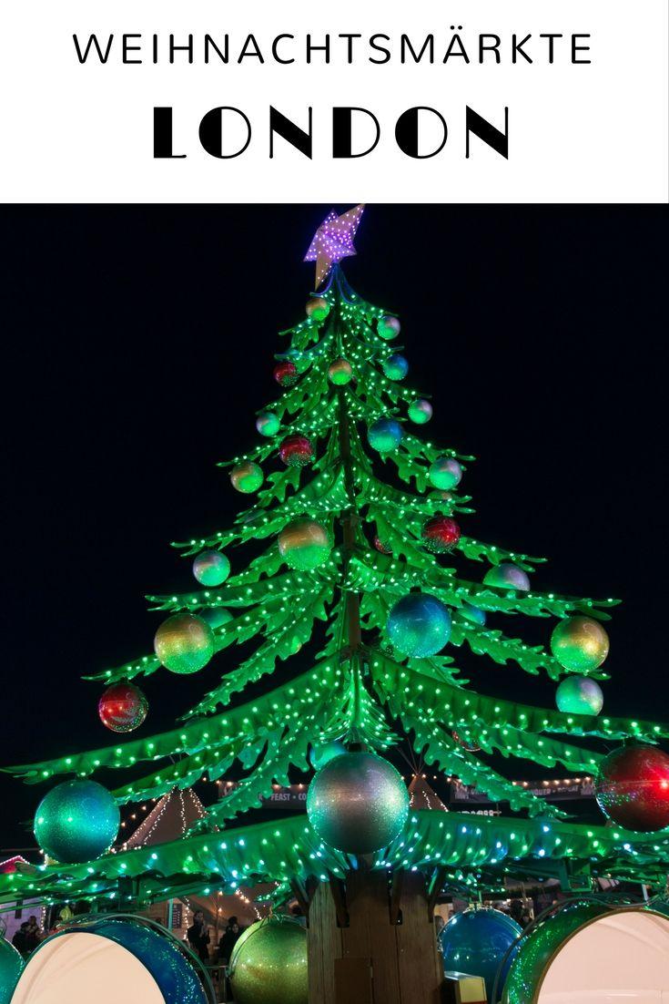 Vorweihnachtszeit in London - mit Weihnachtsmarkt, funkelnden Lichtern, Shopping und Schlittschuhfahren. Im Artikel findet ihr meine Tipps für Weihnachten in London- samt Zeitplan, Kosten und worauf ihr achten solltet. #London #Weihnachten #Vorweihnachtszeit #Advent #Weihnachtsmarkt