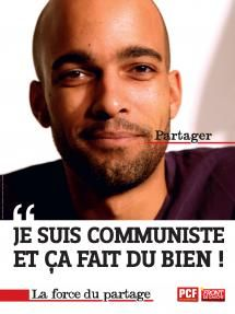 Affiches renforcement - Je suis communiste | PCF.fr - taken from site 30/03/2016