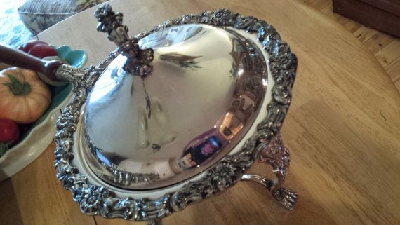 Gorgeous B. Rogers  SilverPlate Decorative by AuntieMaesSweets