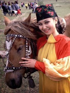 Khakassian woman