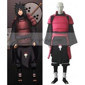 Naruto Shippuuden Uchiha Madara Cosplay Costume