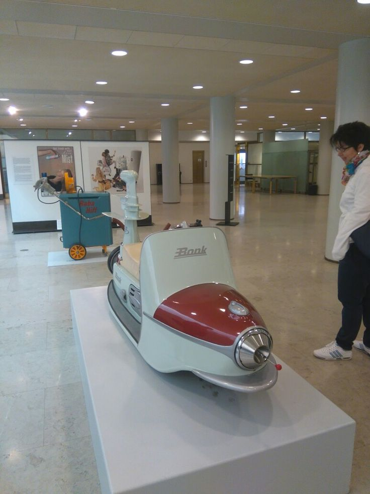 Bonk Surf Scooter from 1957. These were partly licence built by Harley Davidson.