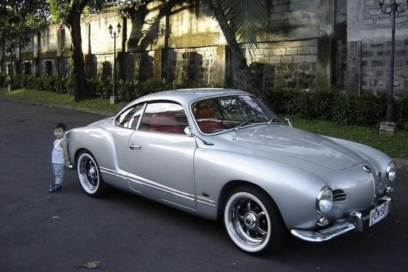 "hot rod karmann ghia | 1959 Volkswagen Karmann Ghia ""Silver Dragon"" - QC, owned by tjbenitez ..."