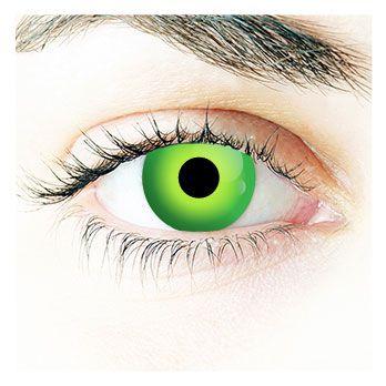 Angry Green - Auge des Hulk (grüne Kontaktlinse)