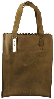 Brown My Paper Bag Shoulderbag http://www.omoda.nl/dames/tassen/schoudertassen/groot/my-paper-bag/bruine-my-paper-bag-schoudertas-long-handle-zipper-52806.html