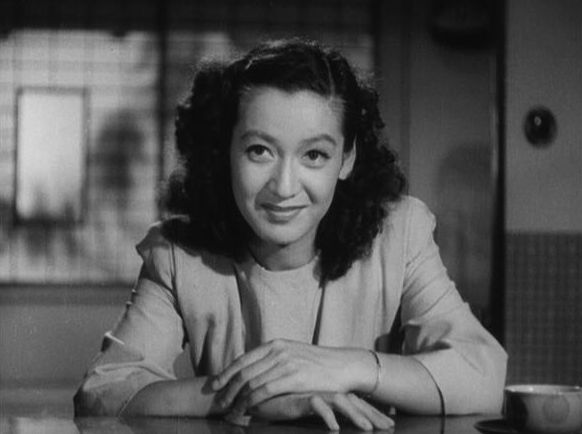 Setsuko Hara, in Late Spring (1949), directed by Yasujiro Ozu.. a great actor