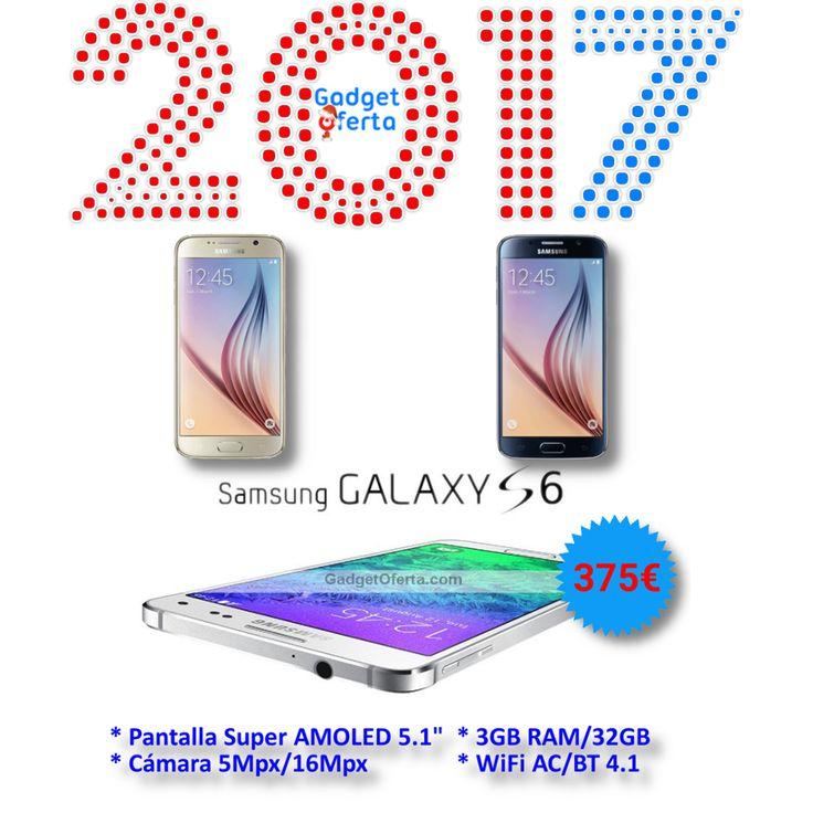 #Feliz2017 Comenzamos el año nuevo, con una nueva oferta: Samsung #GalaxyS6 (dorado o negro) por solo 375€