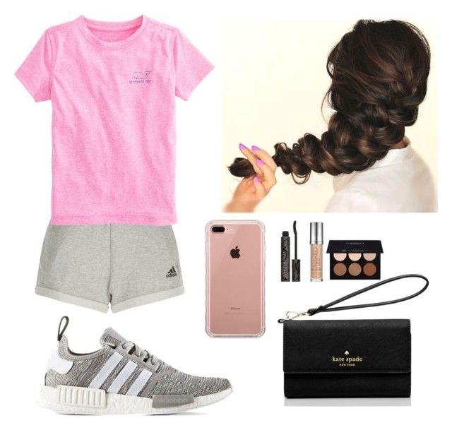 """""""Skyline Park CO6 S42 July 3 Monday"""" by soccerstar913 ❤ liked on Polyvore featuring adidas, Vineyard Vines, Belkin, Kate Spade, Urban Decay and Anastasia Beverly Hills"""