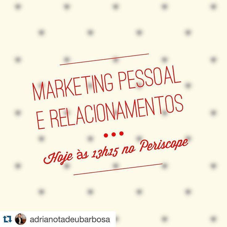 Esperamos você   #Repost @adrianotadeubarbosa with @repostapp.  Direto de São Paulo vou conversar com um dos maiores especialistas em relacionamentos amorosos e como esse tema interfere diretamente em nossas estratégias de marca pessoal afinal somos um só  Acompanhe ao vivo no http://ift.tt/1mCBxzP ou no seu APP - Direto ao Ponto às 13h15.  Saiba mais e assista os demais em http://ift.tt/1NbZf29  #marketingpessoal #pontopessoal #revistapontopessoal #adrianotadeubarbosa #marcapessoal…