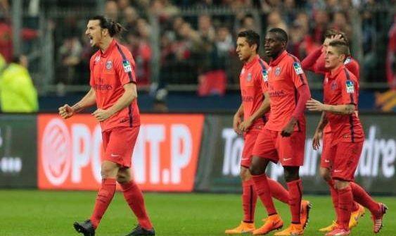 PSG-Bastia 4-0: Ibrahimovic e Cavani decidono la finale di Coppa di Francia - http://www.maidirecalcio.com/2015/04/11/psg-bastia-4-0-ibrahimovic-e-cavani-decidono-la-finale-di-coppa-di-francia.html