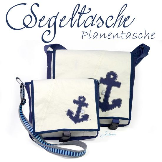 Tasche aus Segelplane / Bag made from canvas / Upcycling