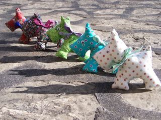 REINES DES REINETTES: Porte-clé scottish terrier