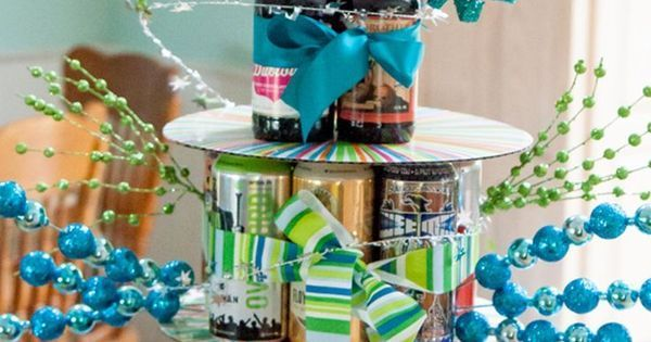 торт из пива на день рождения мужа | Подарки | Pinterest