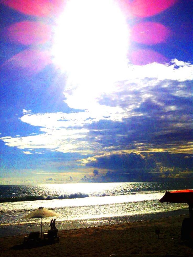 High Noon at La Barca Beach, Batubelig, Bali.