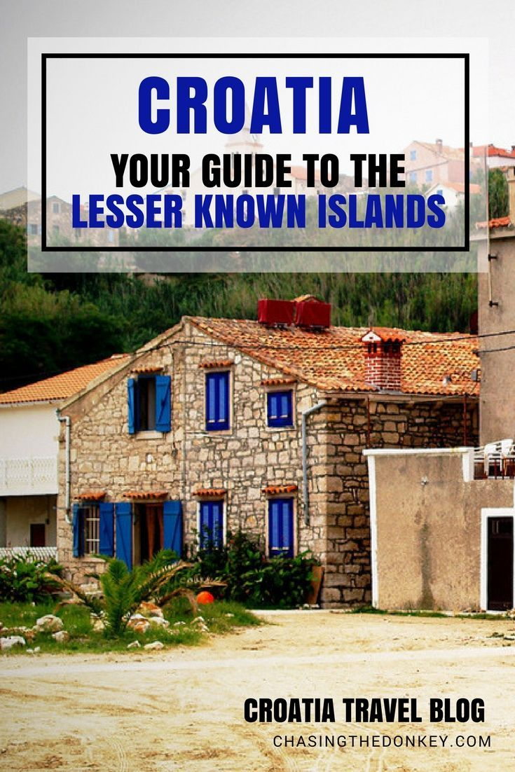 Croatia Travel Blog: Croatia is known for its stunning islands and island hopping is a must while traveling through the country. Use this guide to the lesser known islands of Croatia to find something off the beaten path this year for your holiday. Click to find out more!