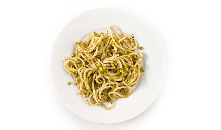 Pasta with Pistachio Pesto photo
