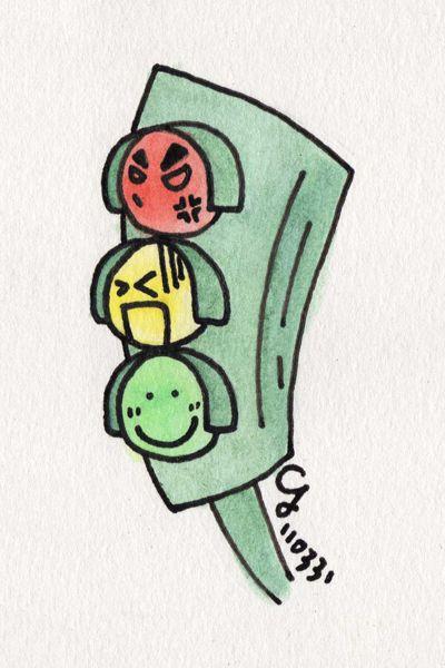 性格迥異紅綠燈三兄弟 Traffic Lights