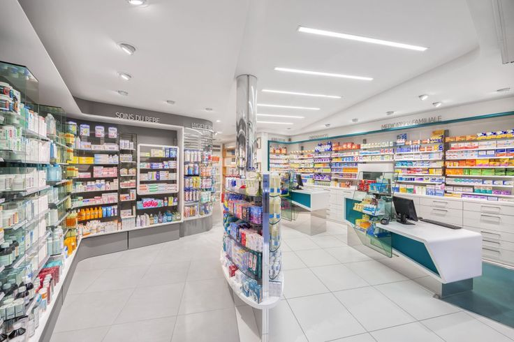 Pharmacy Interior Design By Am Lab Retailandcom The Best Pharmacies World Pinterest
